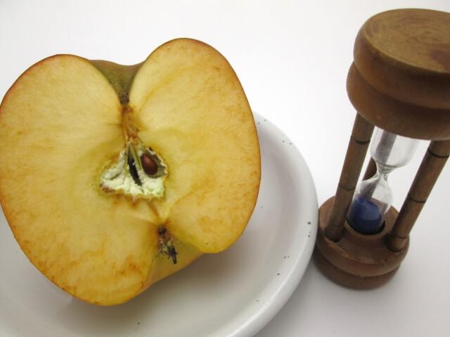 活性酸素リンゴ